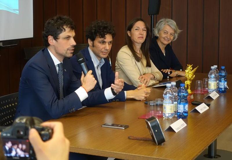 Da sin. Andrea Romizi, Daniele Corvi, Adriana Galgano, Maria Teresa Severini