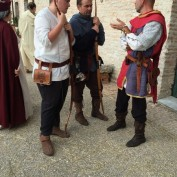 arcieri e cavaliere