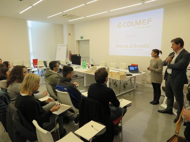 A gubbio la premiazione dell industrial design contest for Colmef pietre d arredo