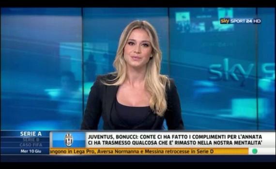 Diletta Leotta a Sky
