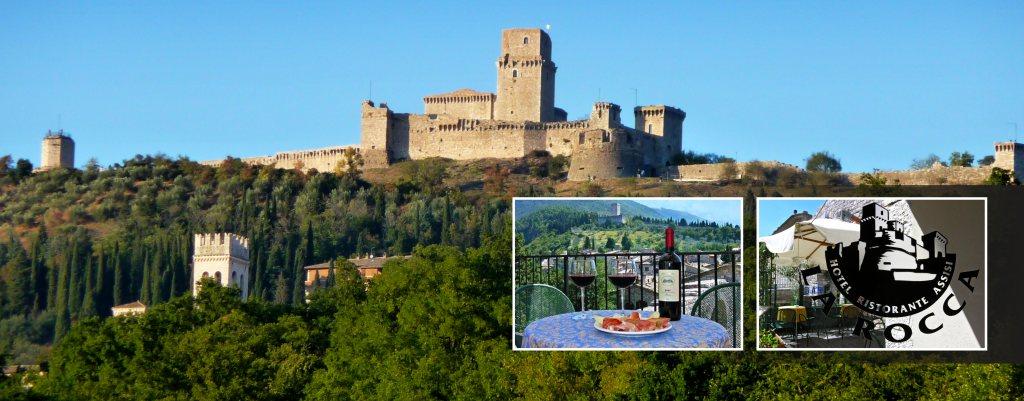 Hotel la Rocca Assisi 2016