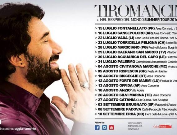 Tiromancino tour