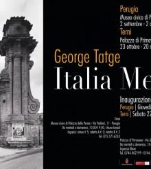 """Italia Metafisica"" di George Tatge a Terni"
