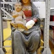 Madonna con bambino_Caltelvecchio S. Giovanni Battista_Preci_Umbria