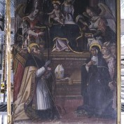 Madonna della Cintola_Visso Villa sant'Antonio_Marche