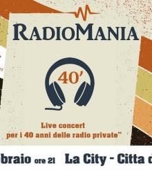 RadioMania, la Città della Domenica di Perugia festeggia le radio libere