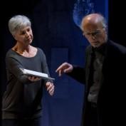 Enigma nella foto Ottavia Piccolo e Silvano Piccardi (foto L. De Frenza) 6