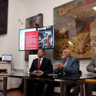Da sinistra Fabio Cancelloni, Giampiero Frondini, Giacomo Chiodini 2