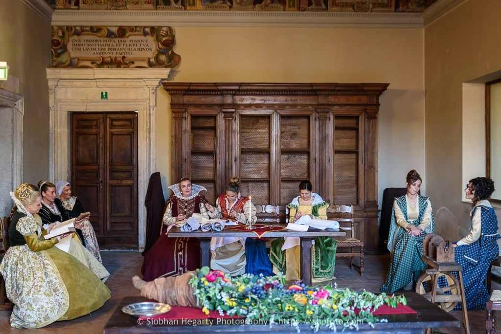 La Corte di Federico nel 1614