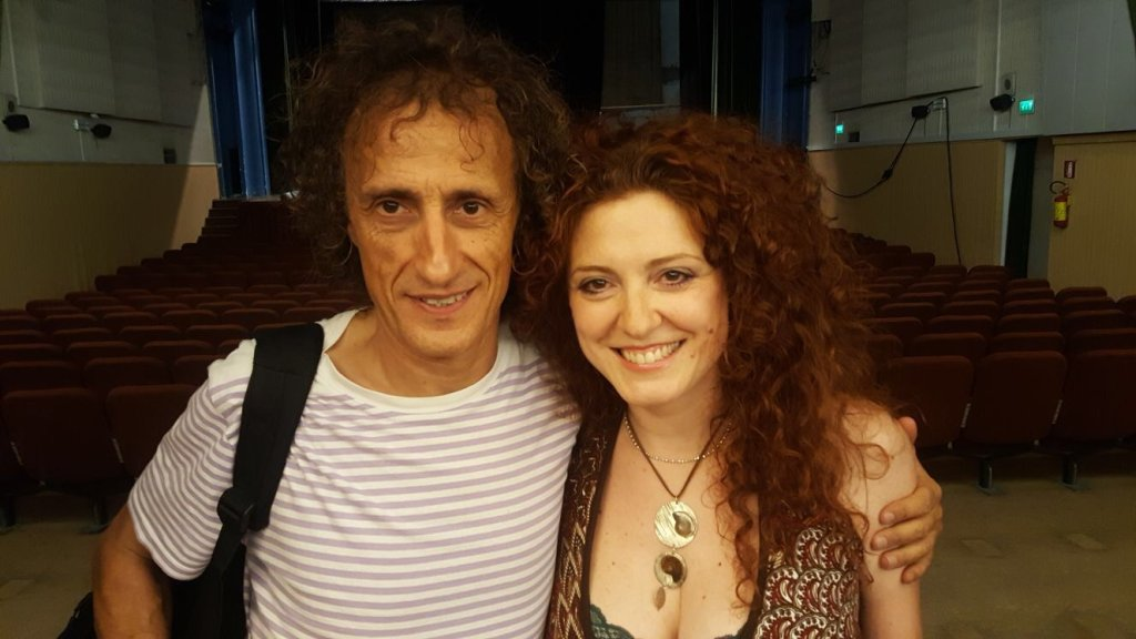 Antonio Rezza e Elisa Tonelli