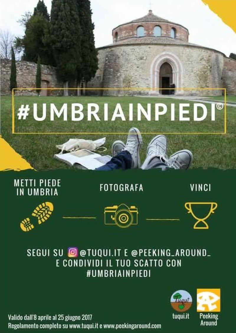 #Umbriainpiedi contest fotografico