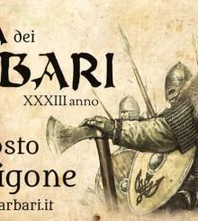 Al via la Festa dei Barbari di Castel Rigone – dal 3 al 6 agosto 2017