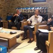 I relatori (Umberto Di Donato, Giovanni Paciullo, Mario Squadroni, Vanni Ruggeri)