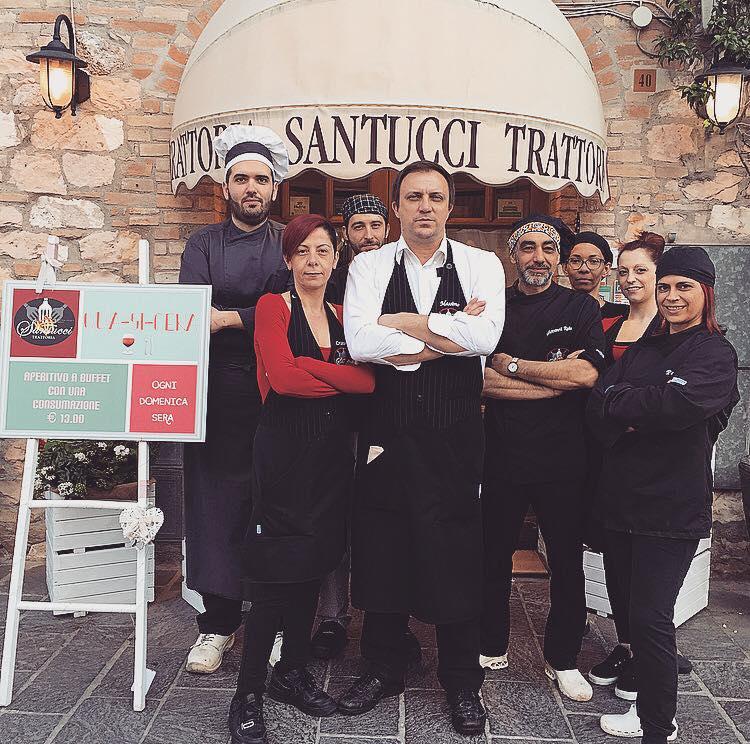 Lo Staff della Trattoria Santucci