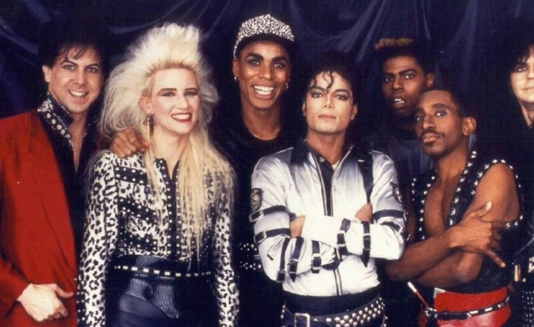 Jennifer Batten con Michael Jackson tour
