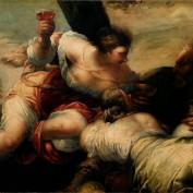 Sebastiano Mazzoni, Lot e le figlie, olio su tela, Rovigo, Pinacoteca dell'Accademia dei Concordi