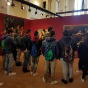 Studenti in visita alla mostra Seduzione e potere
