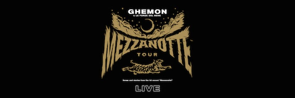 Ghemon Mezzanotte tour