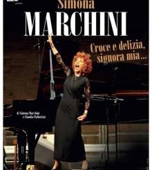 Simona Marchini in Croce e delizia signora mia a Gualdo Tadino