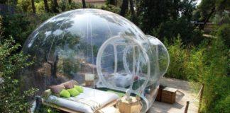 Bubble hotel: dormire sotto le stelle
