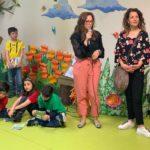 PalioLabo - La docente Chiara Leonelli e la direttrice scolastica Stefania Finauro