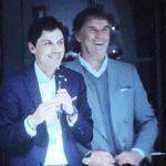 Brunello Cucinelli e il sindaco di Perugia Andrea Romizi