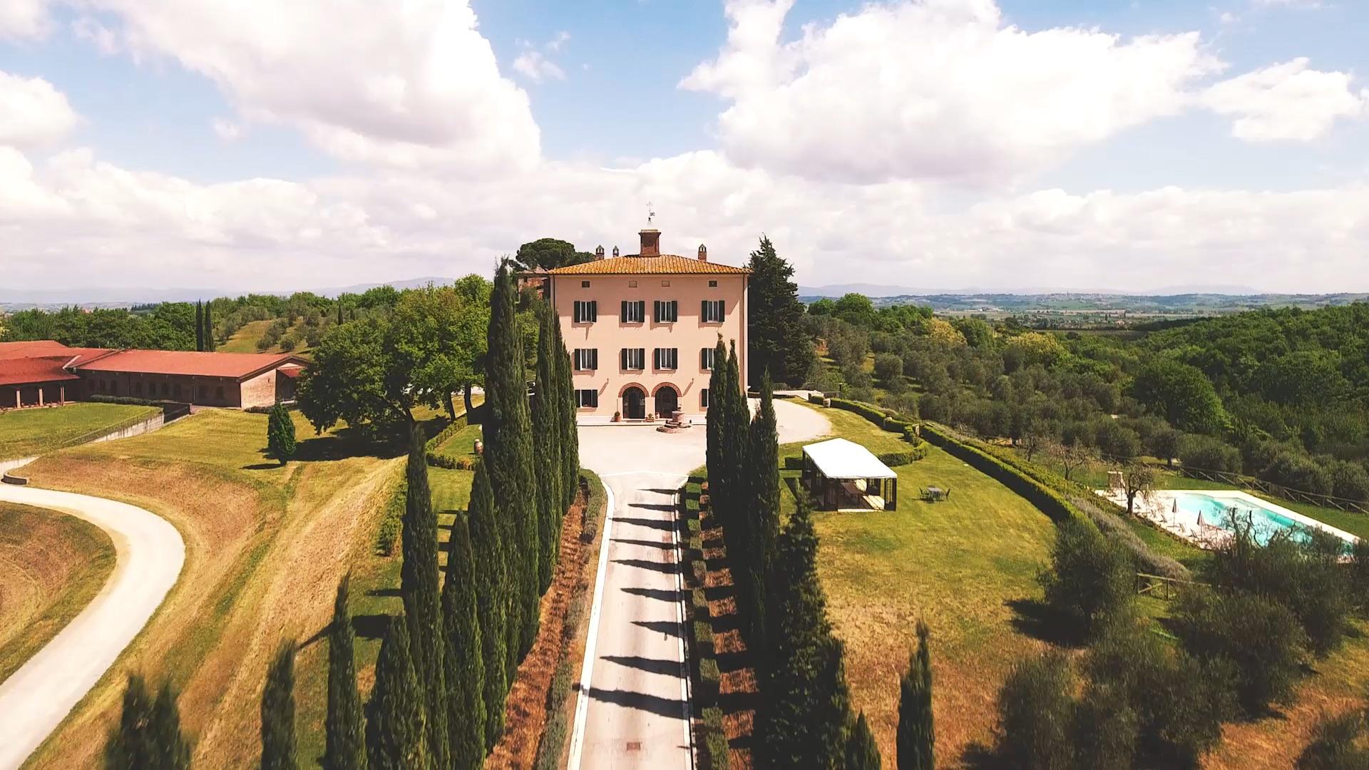 Dormire a Montepulciano: Villa Grazianella - Fattoria del Cerro