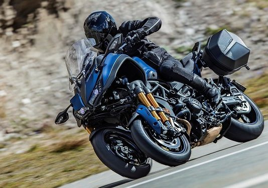 Yamaha Niken: moto a tre ruote
