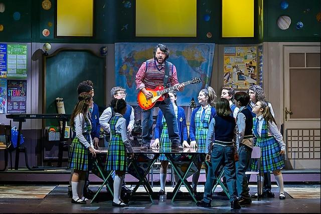 School of Rock al teatro Lyrick