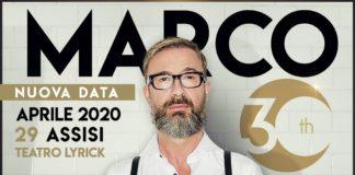 Marco Masini al Teatro Lyrick di Assisi