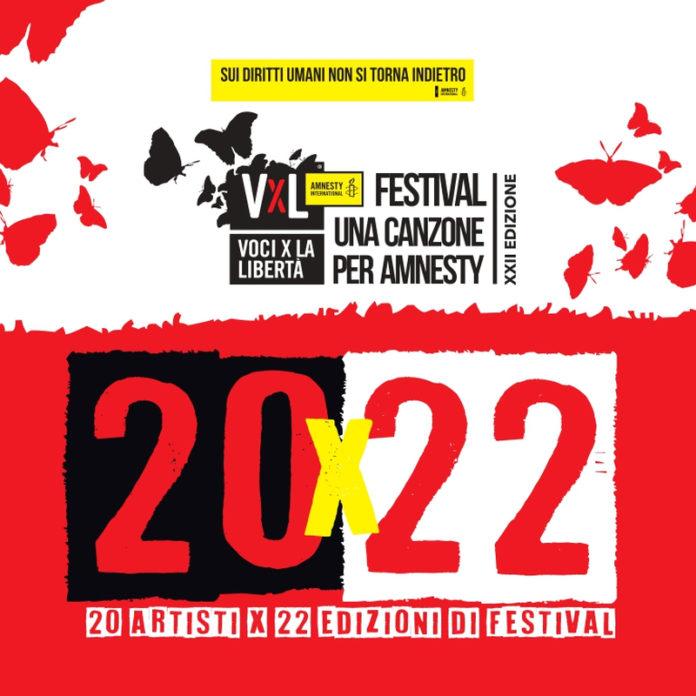 cover 20X22 VOCI PER LA LIBERTÀ - UNA CANZONE PER AMNESTY